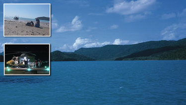 Cid Harbour off Whitsunday Island.