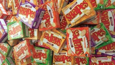 Arnott's Shapes ... an Aussie icon.