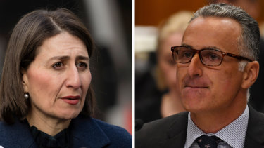 Premier Gladys Berejiklian ordered a review into the conduct of Sports Minister John Sidoti in connection with his property investments.