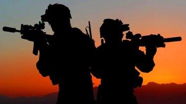 Australian soldiers in Afghanistan.