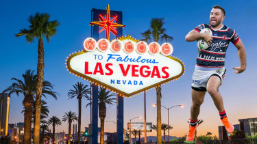 From Bris Vegas to Las Vegas? The NRL wants to take the concept abroad.