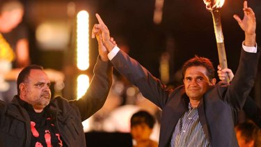 Michael Long and Nicky Winmar were fierce rivals on the field but Indigenous pioneers together off it.