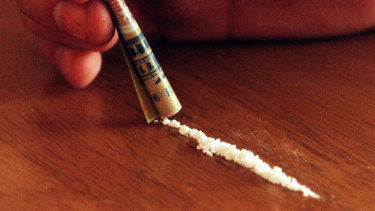 Cocaine use was gaining in popularity among young users, according to the drug trends report.