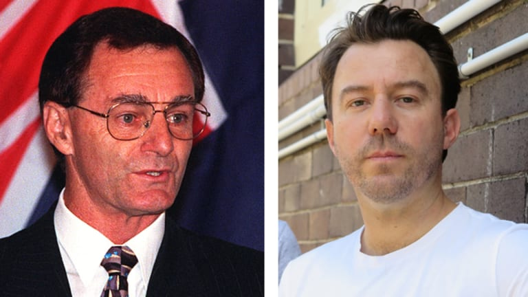 Former Australian Federal Police commissioner Mick Palmer, left, and drug law reform campaigner Matt Noffs are calling for a roll-out of pill testing at music festivals and parties.