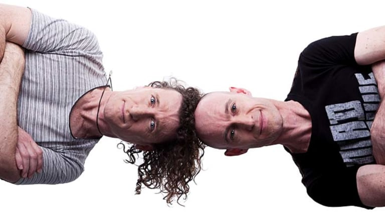 The Umbilical Brothers will also be performing a new show in Canberra in February.