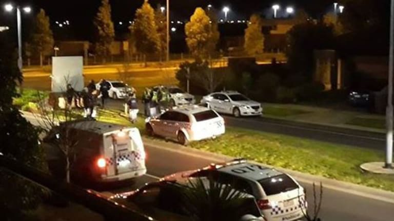 Police converged on Taylors Hill in Melbourne's north-west earlier this month.