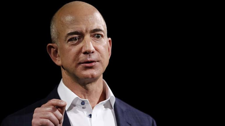 Amazon, which is led by Jeff Bezos, removed items sold on its site by other retailers after nonprofits and lawmakers called attention to them.