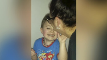 Georgie hopes her son will grow up in a world more inclusive of him and his special needs.