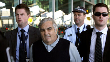 Robert Agius was arrested at Sydney Airport in 2008.
