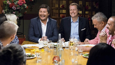 All too familiar: Nine's ill-fated The Hot Plate