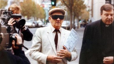 George Pell, right, was the architect of the Melbourne Response.