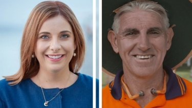 BATTLE FOR LILLEY: Labor's Anika Wells is just ahead of the LNP's Brad Carswell.