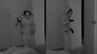 The woman wanted over the Katanning break in.