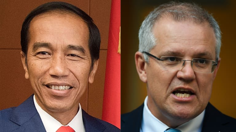 Indonesian President Joko Widodo and Australian Prime Minister Scott Morrison will meet on Thursday.