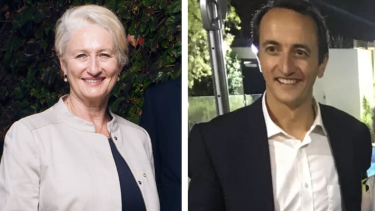 Wentworth bound? Kerryn Phelps and Dave Sharma.