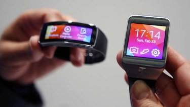 Primary school children are using wearable technology in classrooms.