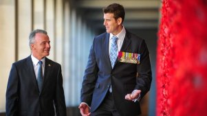 Historians call out War Memorial director over Ben Roberts-Smith defence