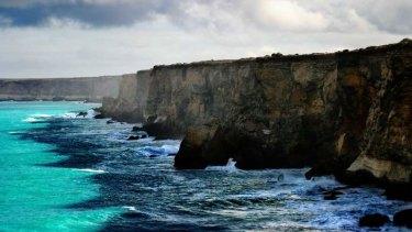The Bunda Cliffs on the Great Australian Bight.