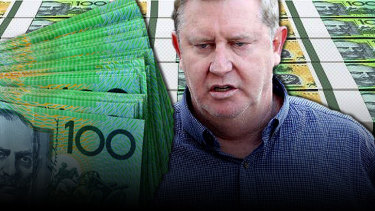Paul Whyte's brother has been charged with money laundering.