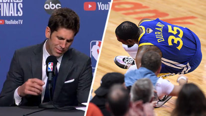 Durant injury brings Warriors GM to tears after NBA finals thriller
