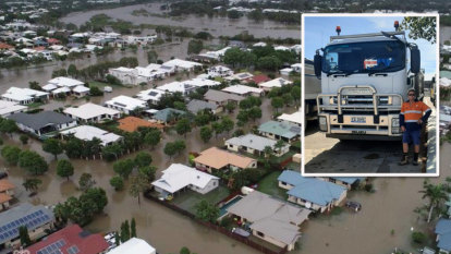 National bravery award for truck driver after Townsville flood heroics