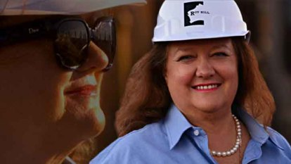 Gina Rinehart, $16 billion Super Pit merger recognised at Diggers and Dealers gala