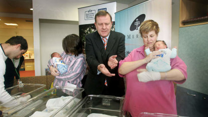 Howard government warned of a baby shortage hitting the budget