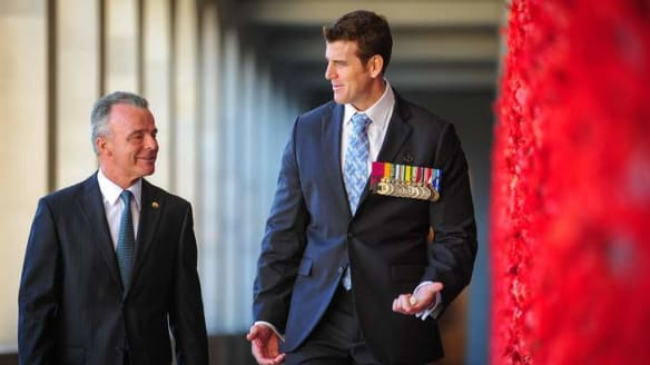 Historians call out memorial director over Roberts-Smith
