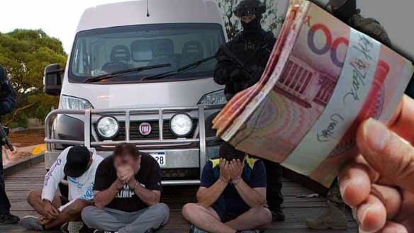 More than 1.2 tonnes of meth was transferred