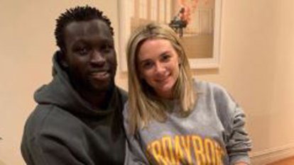 Majak Daw expecting first child with his partner Emily McKay