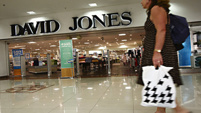 David Jones to cut 120 jobs in face of retail recession