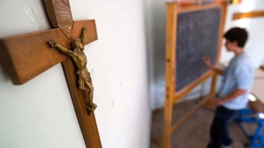 There has been a rise in the number of students saying they did not identify with a religion.