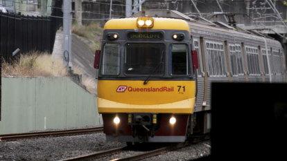 Trains resume in Brisbane's north after power line problem