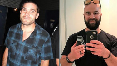 Pilbara mine supervisor Troy Hausler (right) is accused of murdering Tobias Richter (left) at the Pilgangoora lithium mine.