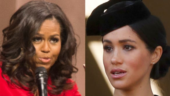 'Don't be in such a hurry': Michelle Obama's advice for Duchess of Sussex