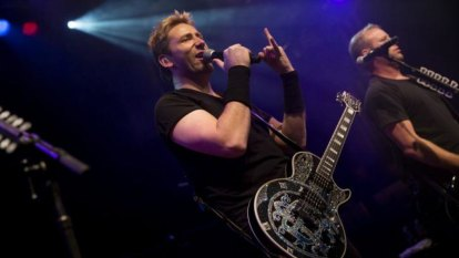 Nickelback, the world's most mocked band, play in Brisbane