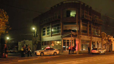 Police are investigating a shooting into a restaurant and car on Friday night.