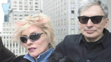 Good friends Debbie Harry and Chris Stein in New York in 2004. Stein married actor Barbara Sicuranza in 1999, and Harry is godmother to their two teenage daughters.