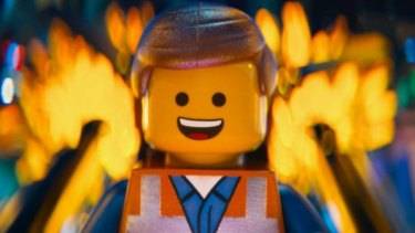 Emmet in The Lego Movie