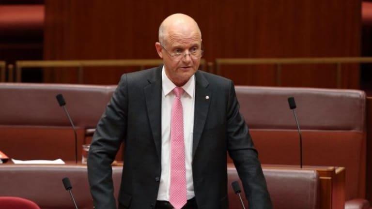 Liberal Democratic senator David Leyonhjelm.