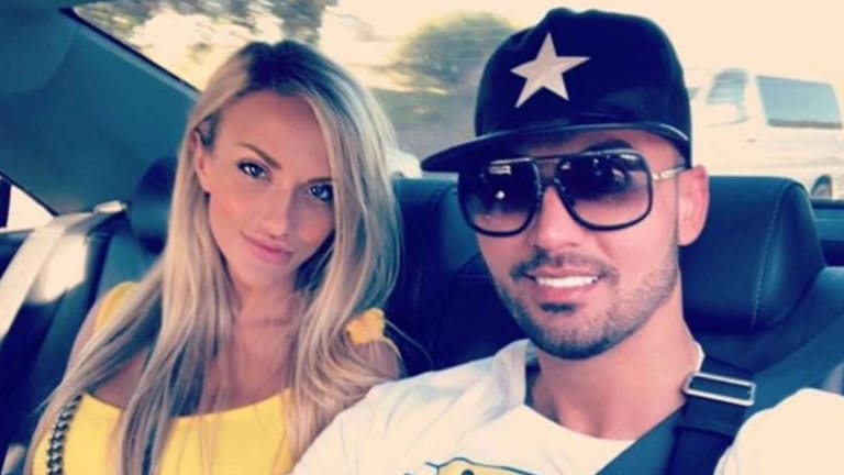 Mehajer posted this shot of him with his girlfriend Melissa Tysoe.