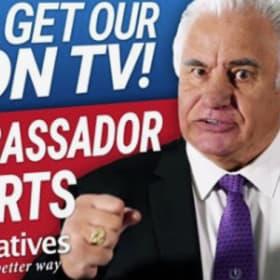 Cory Bernardi in meaty stoush over 'lambassador' ad