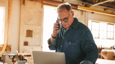 One third of Australian start-ups are founded by over-55 year olds.