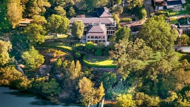 Billionaire Kuizhang 'Sam' Guo's Hunters Hill property.