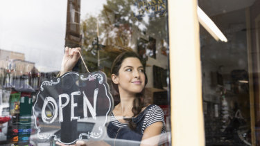 57 per cent of small businesses are now confident in their prospects over the next 12 months, experts say.