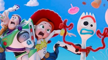 Forky – a spork-turned-toy dealing with an identity crisis – is the newest character in the Toy Story universe.