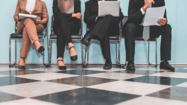 Job hopping isn't as prominent of a trend among those with permanent roles.