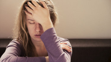 Young women are more likely than their seniors to be anxious, feel uneasy and lonely.