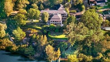 Billionaire Sam Guo's Hunters Hill property.