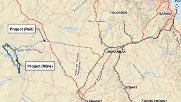Adani's proposed Carmichael coal mine.